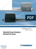 Thomson Electrak Pro Specsheet