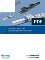 Thomson Profile Rail Linear Guides Catalog