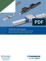 Thomson Profile Rail Linear Guides Catalog