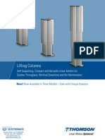 Thomson Lifting Columns Catalog