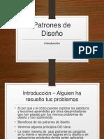 1 . Patrones de Diseño - Esrategia