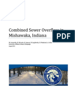 Combined Sewer Overflow in Mishawaka, IN