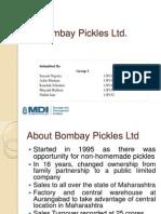 11. Bombay Pickles