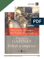 Volver a Empezar -Patricia Gaffney