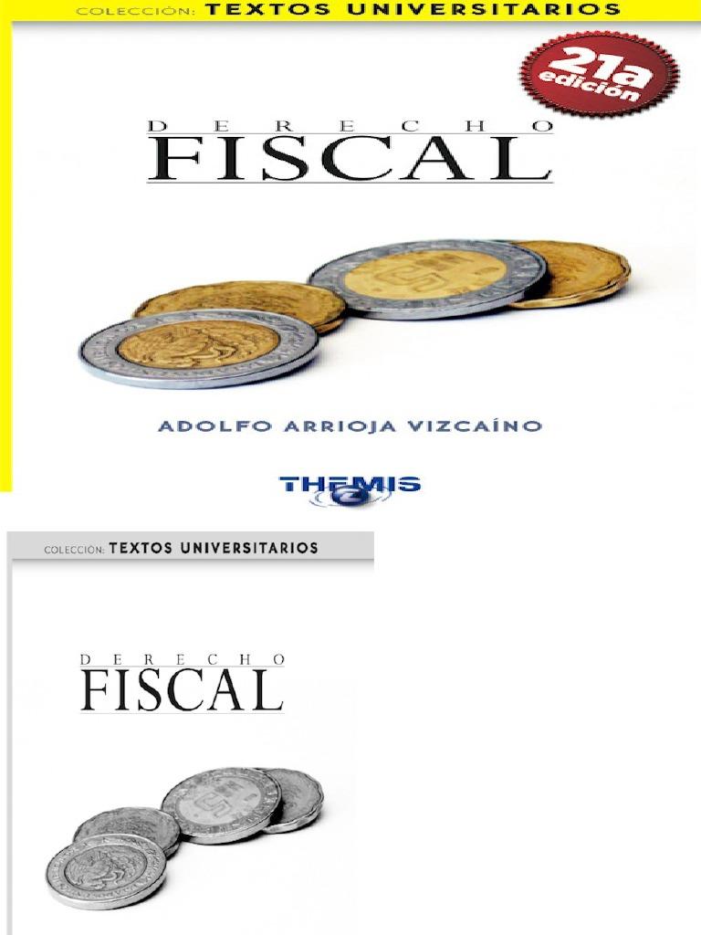 derecho fiscal adolfo arrioja vizcaino pdf gratis