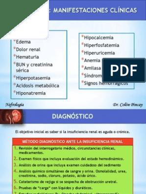 hipercalemia de obstrucción uretral