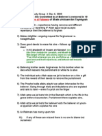 Punishment for the Sin Committed by A Believer is Removed in 10 Ways