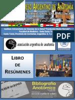 Libro de Resumenes - 48º Congreso Argentino de Anatomia - Sto Tome 2011.pdf