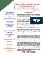 hfc august 24 2014 bulletin 2