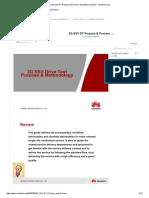 3G SSV DT Purpose & Process