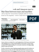 Google, Facebook and Amazon race to blur lines between man and machine