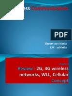2g 3g WLL Cellular Concept