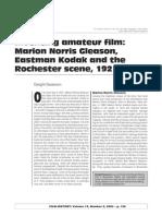 Inventing Amateur Film