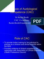 The CAC Scheme Talk 2008