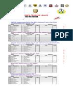 2014-2015 Rspl Schedule