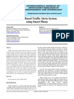 IJIRET Sandeep MK Cloud Based Traffic Alerts System Using Smart Phone
