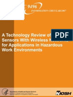 Smart Sensors With Wireless Networks for Applications in Hazardous Work Environments