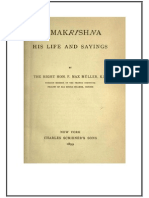 Max Muller Ramakrishna His Life and Sayings
