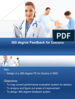 360 Degree Feedback for Doctors