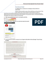 proceso de inscripcion para parent cloud