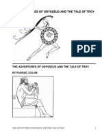 The Adventures of Odysseus and The Tales of Troy by Colum, Padraic, 1881-1972
