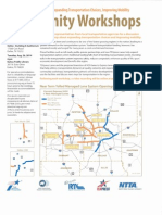 Txdot Community Workshop for Southern August 25 2014