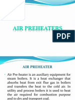 Air PreHeater In thermal power plant