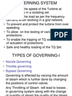 Governing System Of Turbine