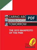 PNM Manifesto 2010