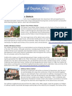Dayton Historic Neighborhood Districts