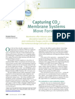 CO2 Capture Membrane Systems