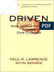 Driven How Human Nature Shapes Our Choices