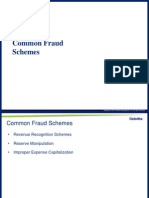 Common Fraud Schemes