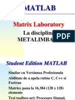 Introducere in Matlab