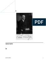 Have faith in Massachusetts; 2d ed.A Collection of Speeches and Messages by Coolidge, Calvin, 1872-1933