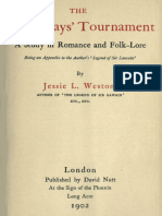 The Three Days' Tournament by Jessie L. Weston.epub