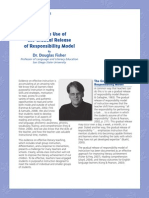 gradual release of responsibility model