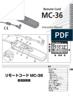 MC 36 RemoteCord