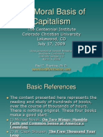 The Moral Basis of Capitalism - Dr Paul Prentice
