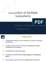 Reduction of Multiple Control Subsystems