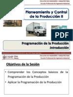 Sem 15.1 - PCP II - USMP - Programación de la Producción - Introducción.pdf