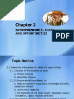 Chapter 2 Entrepreneurial Ideas