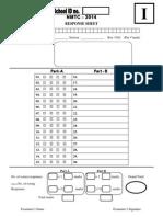 Response Sheet Inter