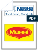 RM Project on Maggi Noodles