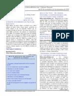 Hidrocarburos Bolivia Informe Semanal Del 30 de Noviembre Al 6 de Diciembre 2009