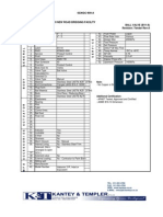 SAL Tender Data Sheets 2013