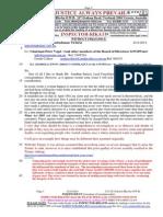 20140824 to EWOV2004-317-570 COMPLAINT Etc-Re GWMWater - Re 2305224 Creditcollect 369335-Suplement 10
