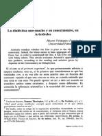 La dialéctica uno-mucho y su conocimiento, en Aristóteles.pdf