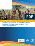 Gender and Climate Change Research in Agriculture and Food Security for Rural Development