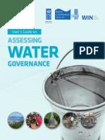 User's Guide on Assessing Water Governance